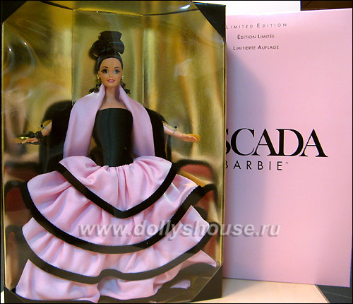 коллекционная барби эскада barbie escada