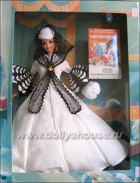 Коллекционная кукла Барби Barbie Scarlett O'Hara