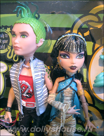 Monster High Монстер Хай Deuce Gorgon Cleo de Nile
