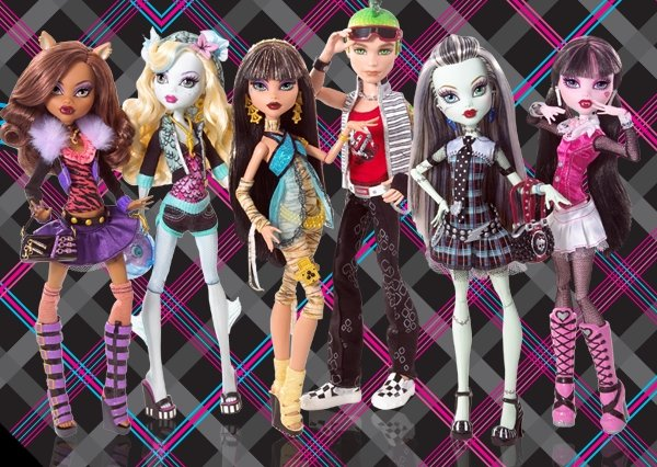 шарнирные куклы Monster High Монстер Хай купить