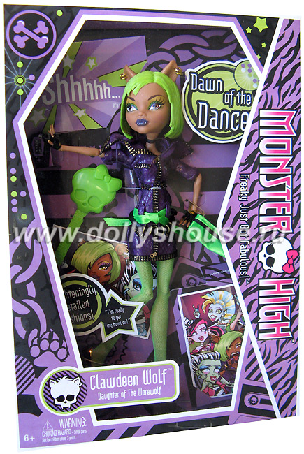 Кукла Monster High Clawdeen Wolff