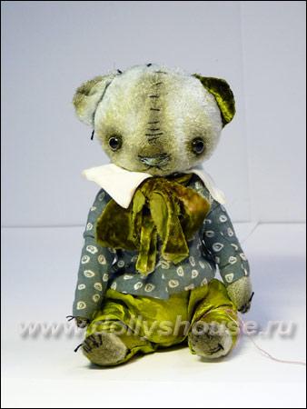 авторская игрушка мишка Тедди Алены Жиренкиной