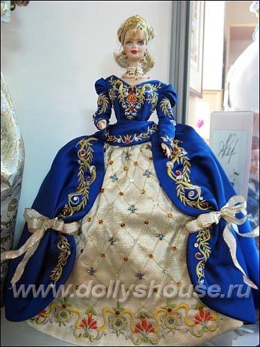 коллекционная кукла Барби Фаберже