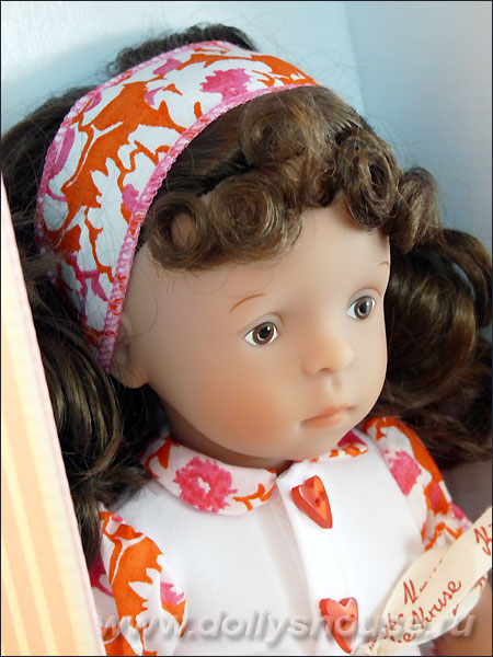 Кукла Kathe Kruse Минуш Minouche