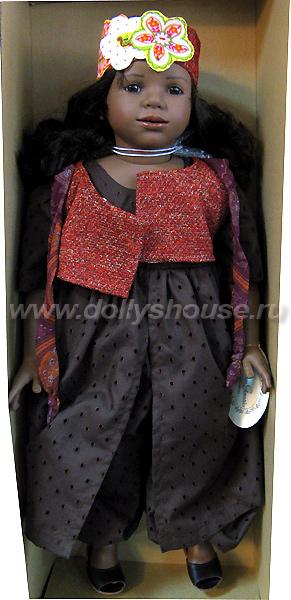 Темнокожая кукла афроамериканка Carmen Gonzalez