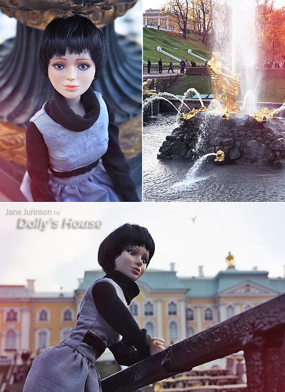 Коллекционная кукла Андромеда. Фото Яны Юринсон