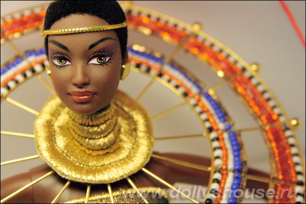 Коллекционная кукла Барби Богиня Африки Goddess of Africa Barbie