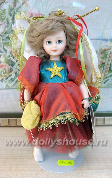 Коллекционная кукла американская ангел рождества