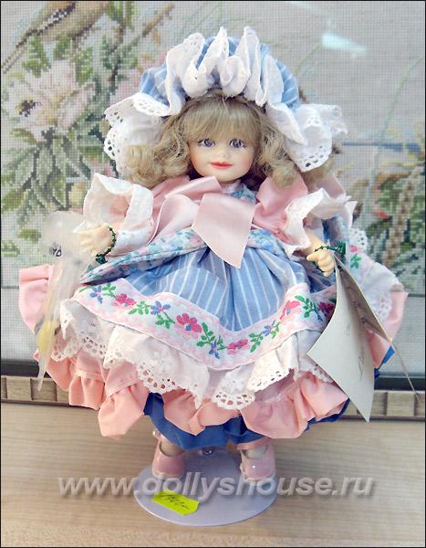 Коллекционная кукла американская Крис Миллер Pittsburgh Originals