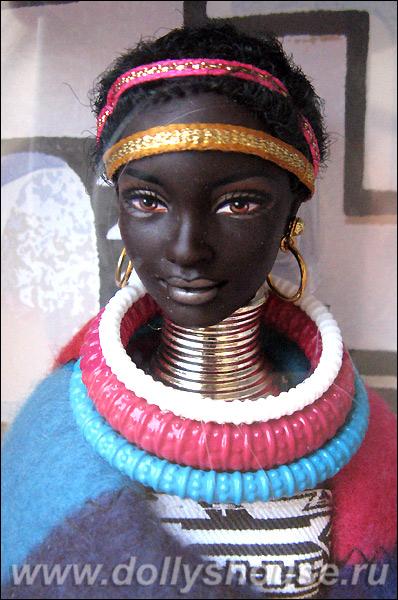 Купить коллекционную Барби принцессу Африки
