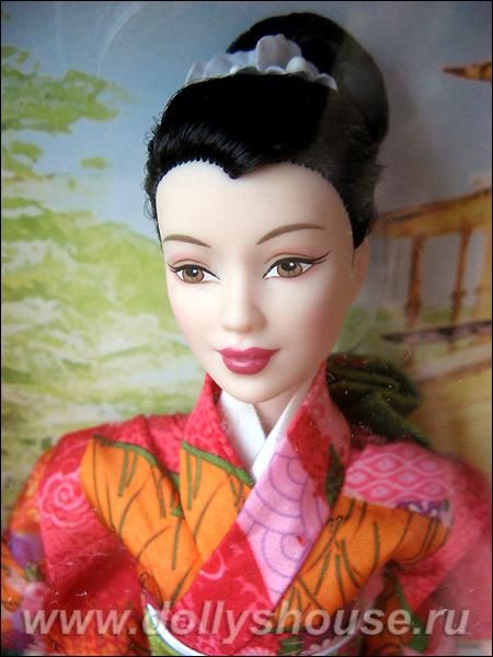 Коллекционная Барби Принцесса Японии купить