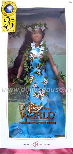 Коллекционная Барби Принцесса Островов Тихого Океана