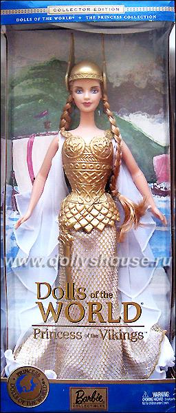 Коллекционная Барби Принцесса Викингов купить
