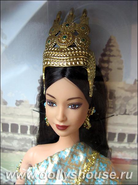 Коллекционная кукла Барби Принцесса Камбоджи купить