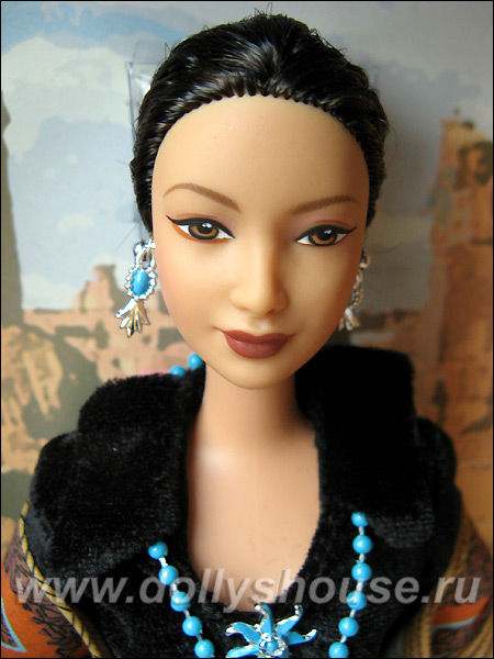 Коллекционная кукла Барби Принцесса Навахо купить