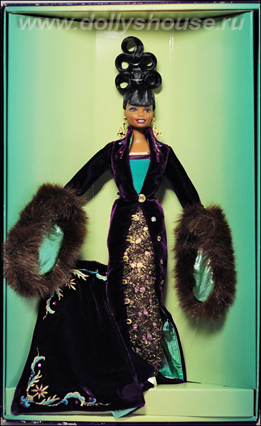 barbie plum royale by byron lars