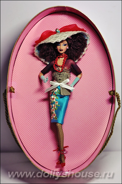 barbie sugar chapeaux collection byron lars