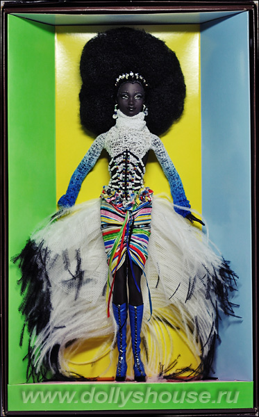 barbie mbili treasures of africa byron lars